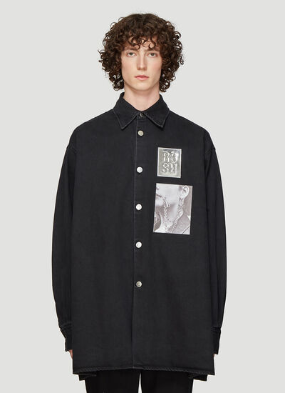 Raf Simons Two Patch Big Fit Shirt
