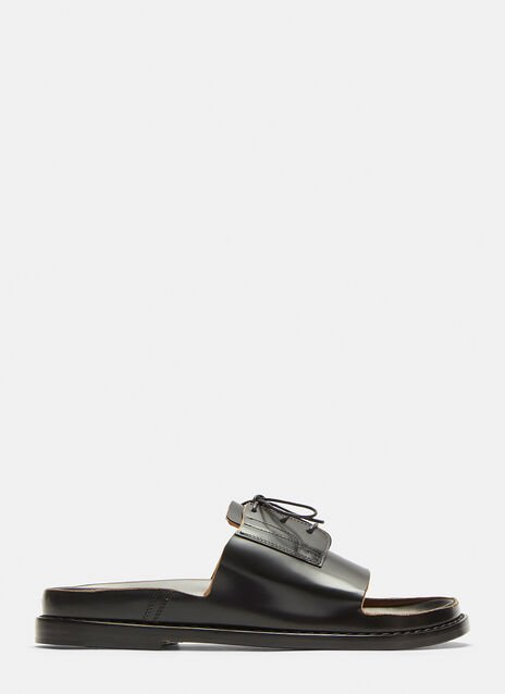 Maison Margiela Cut-Out Lace Up Shoes