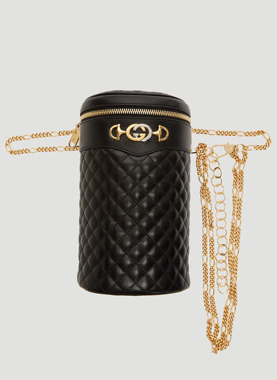 9f3fb40ef4b Gucci Quilted Leather Belt Bag