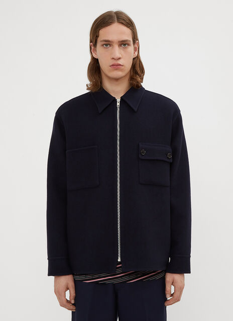 Marni Felted Double Pocket Jacket