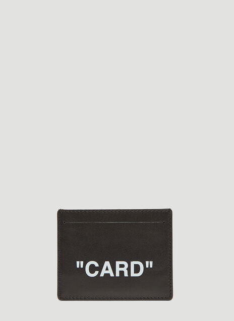 Off-White Credit Card Holder
