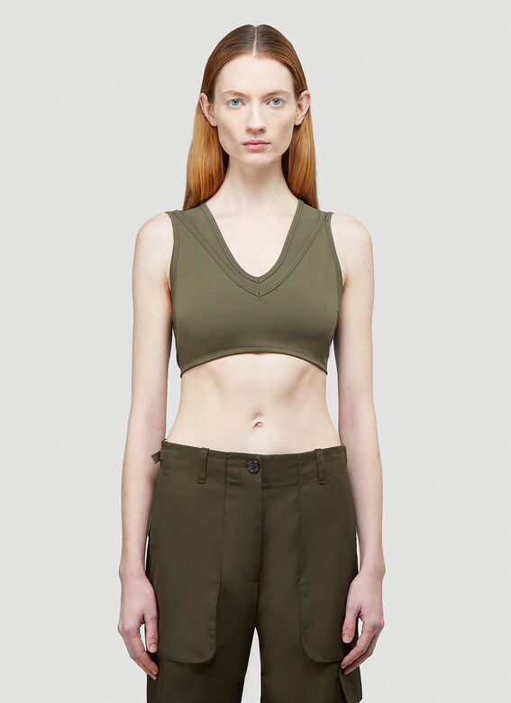 Helmut Lang Double Cropped Top 1