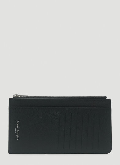 메종 마르지엘라 Maison Margiela Long Card Holder in Black