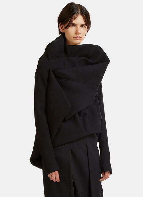 Rick Owens Guimard Draped Jacket