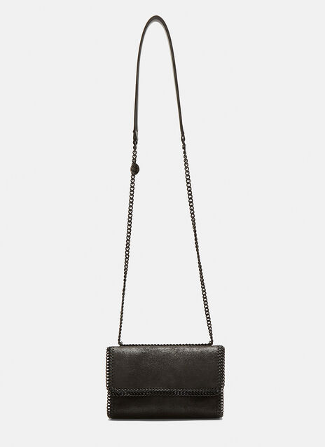 Stella McCartney Shaggy Deer Falabella Chain Shoulder Bag
