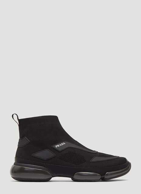 Prada Cloudburst Sock Knit Sneakers