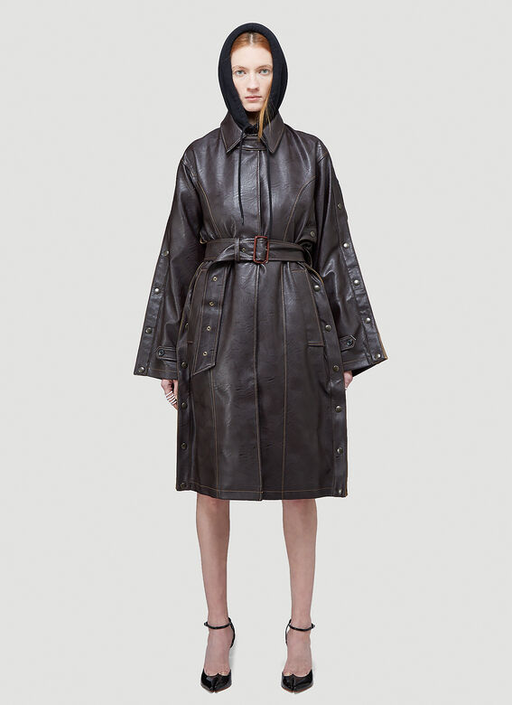 Y/Project SNAP TRENCH COAT 1