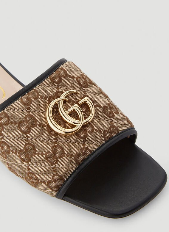 Gucci GG SLIDES OPEN TOES SANDAL 5