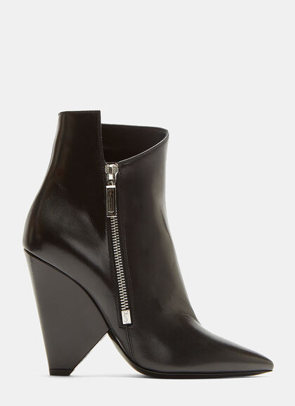 Image of Niki 105 Asymmetric Ankle Boots