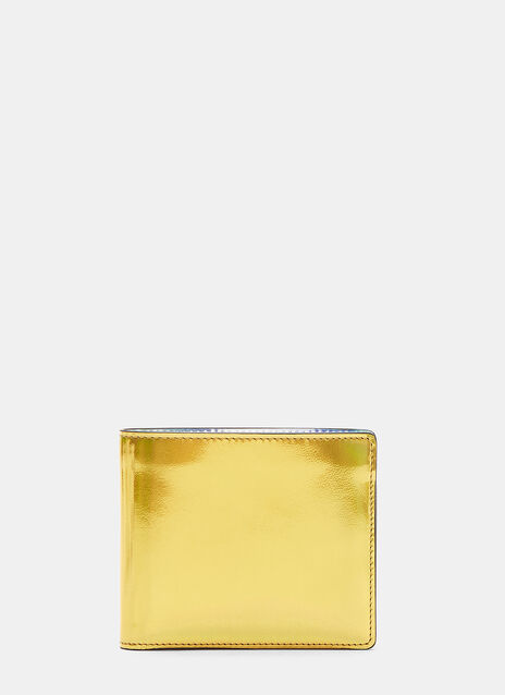 Maison Margiela Two-Tone Iridescent Bi-Fold Wallet