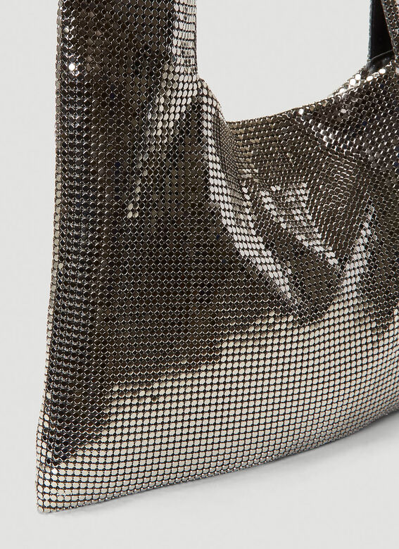 Kara Metal Mesh Crossbody Bag 5