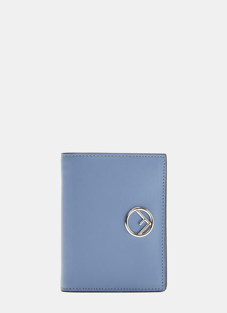 Fendi Compact Leather Wallet