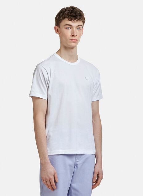 Acne Studios Nash Face Embroidered T-Shirt