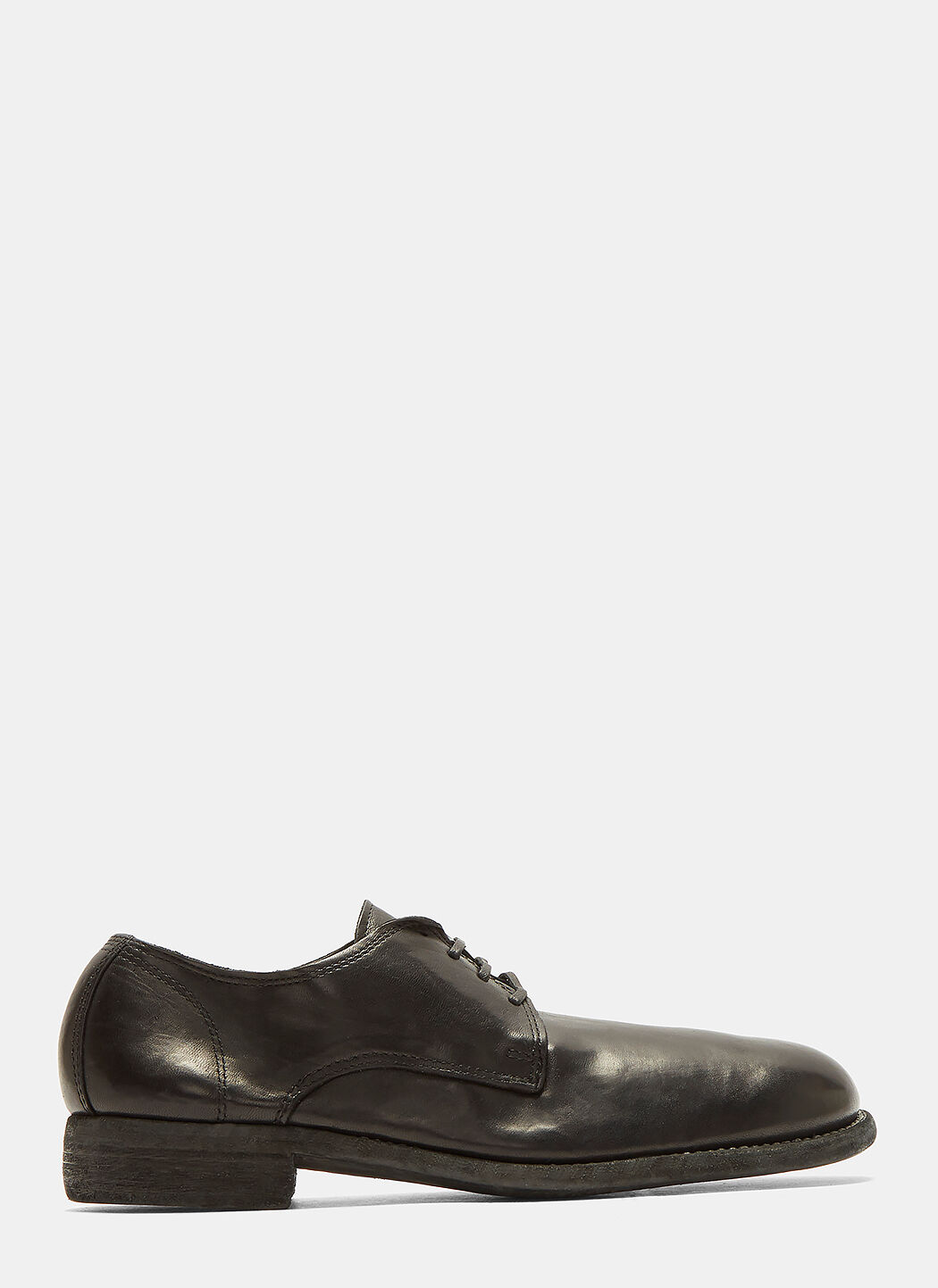 Raw Flax Zipped Derby Shoes Yohji Yamamoto From China Low Shipping Fee Cheap Price Factory Outlet Z9AAYN