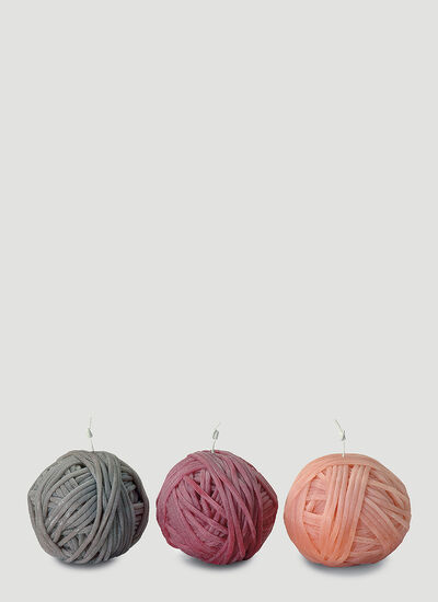 Missoni Home Three-Pack Gomitolo Candles