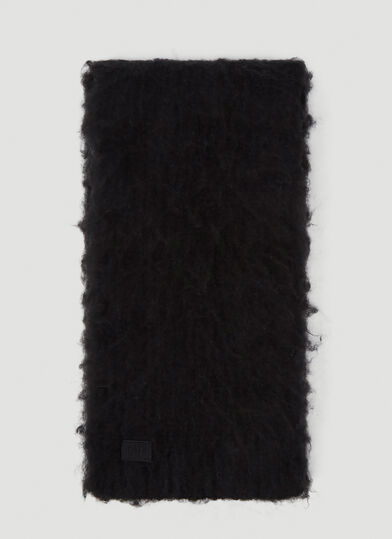EYTYS Bale Textured Scarf in Black