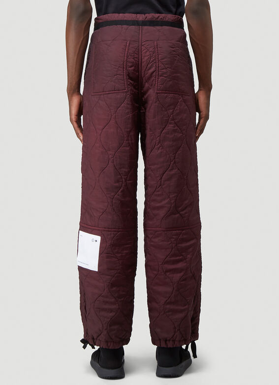 OAMC Quilted Combat Pants 4