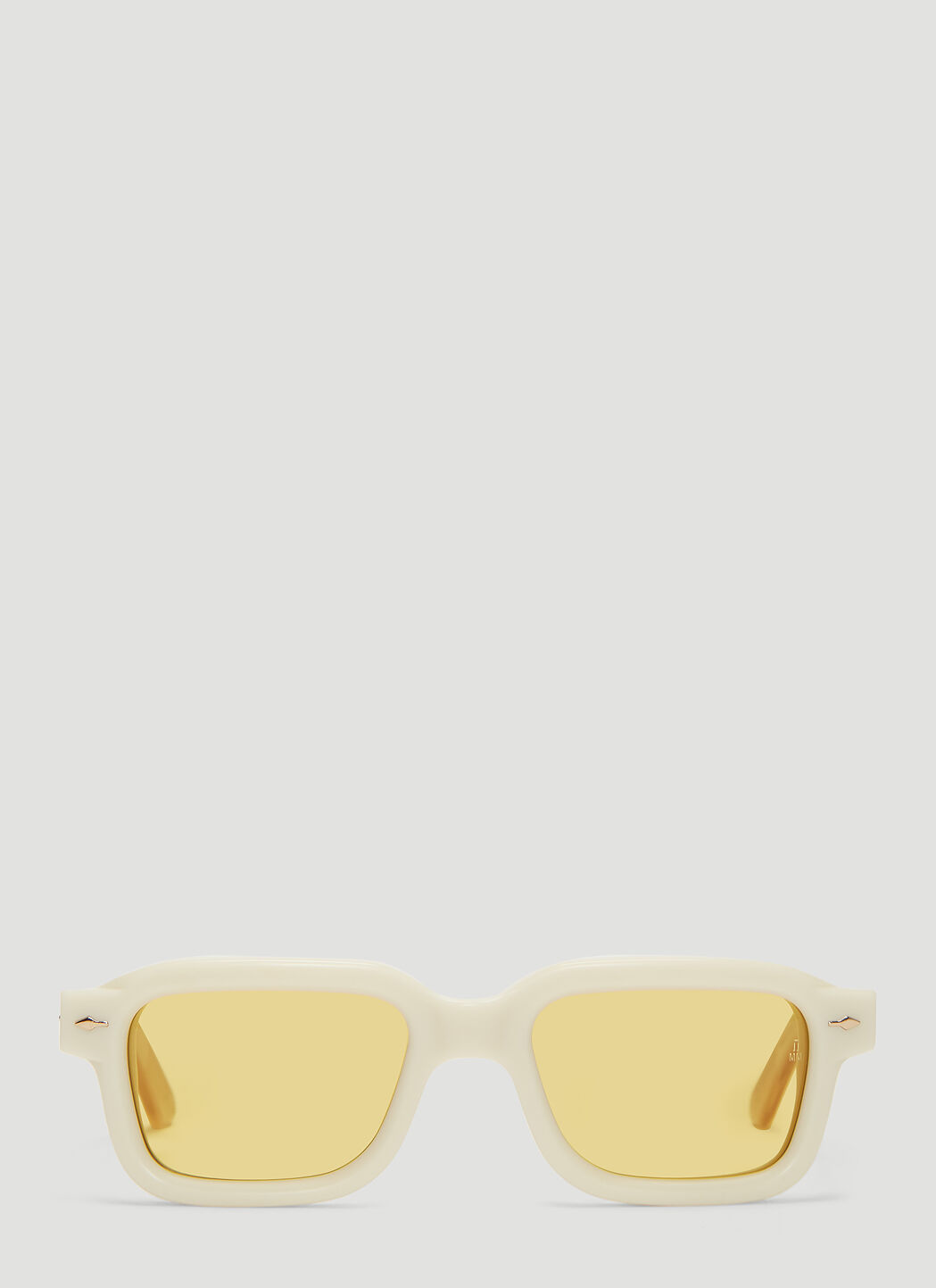 Jacques Marie Mage Sunglasses Sandro Sunglasses in Off-white