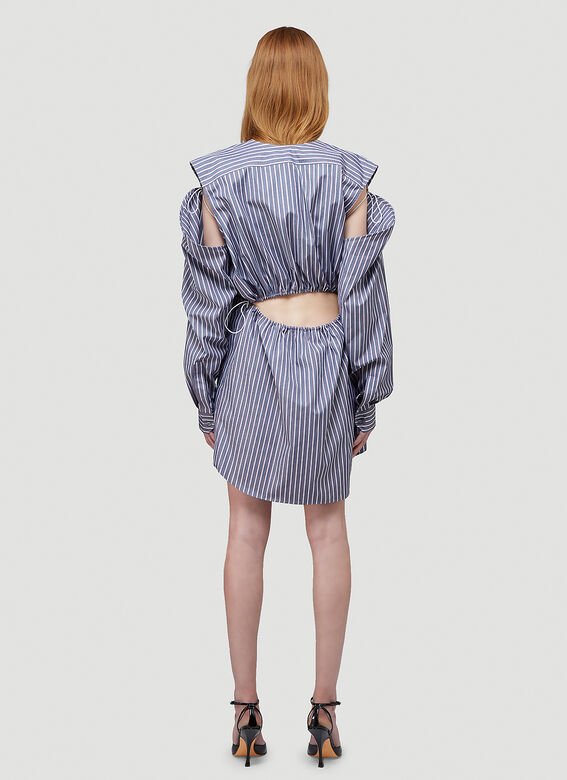 Y/Project CONVERTIBLE SHIRT DRESS 4
