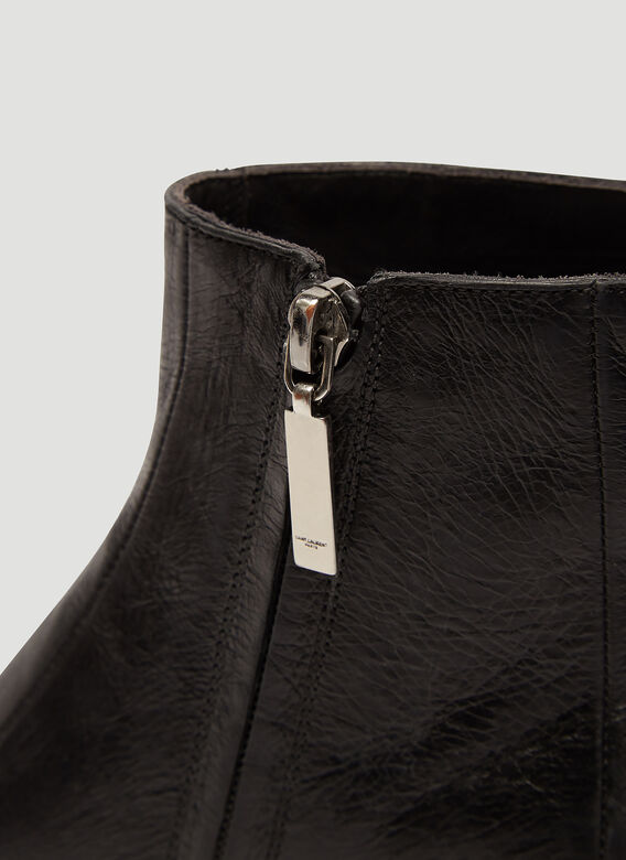 Saint Laurent Finn Ankle Boots
