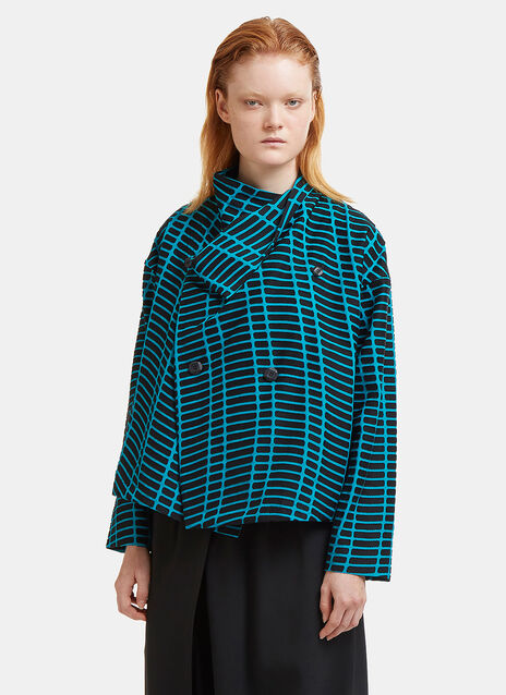 Skew Wrap-Over Shirt