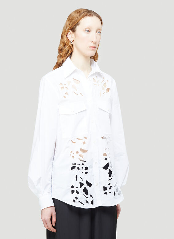 JW Anderson Cut-Out Bell Sleeve Shirt 6