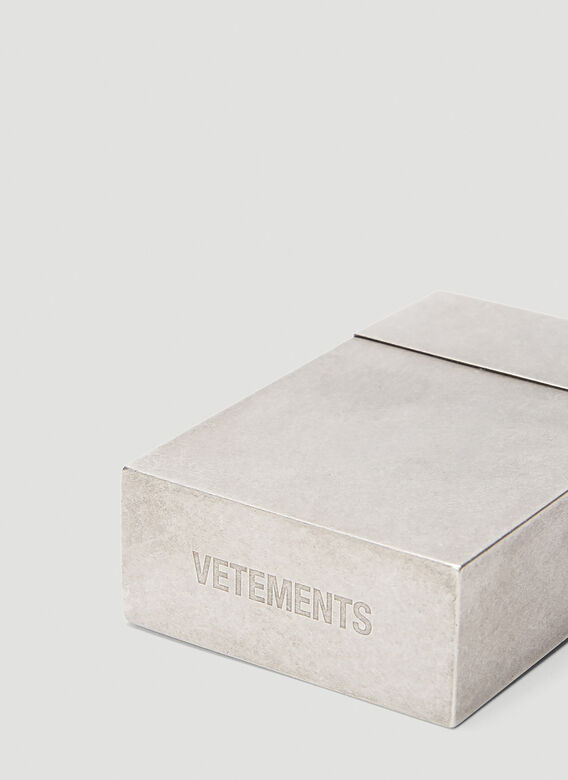 Vetements METAL CIGARETTE CASE 4