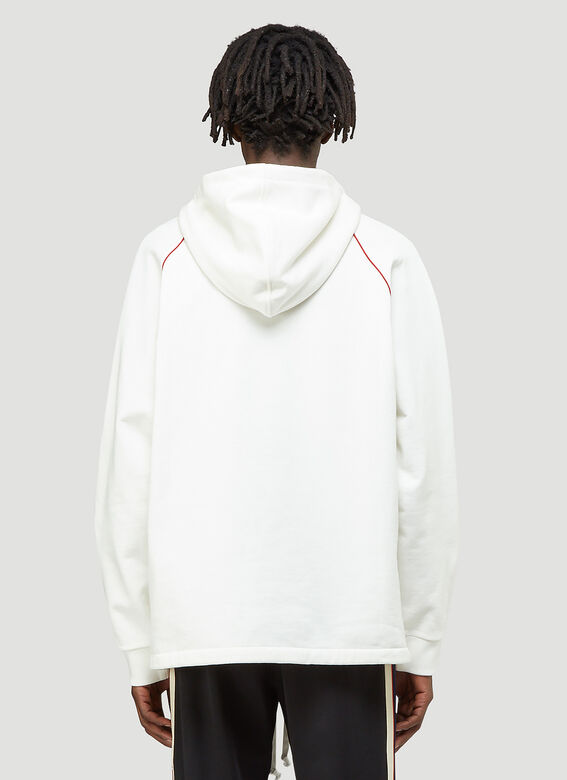 Gucci Half-Zip Hooded Sweatshirt 4