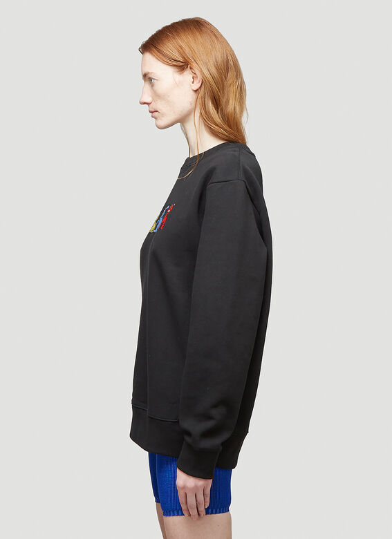 Butter Sessions RITTLE KING EMBROIDERED CREWNECK 3