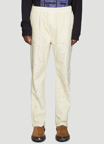 Vyner Articles Elasticated Spray Paint Pants