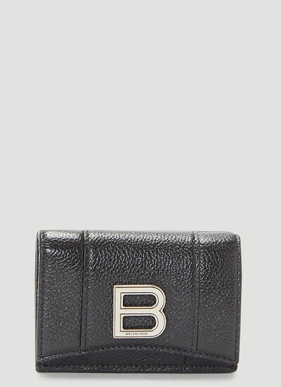Balenciaga Hourglass Mini Wallet