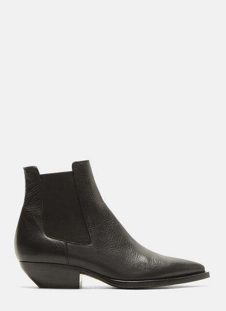 Saint Laurent Theo 45 Chelsea Ankle Boots