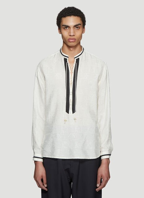 Saint laurent Persian Jacquard Tunic