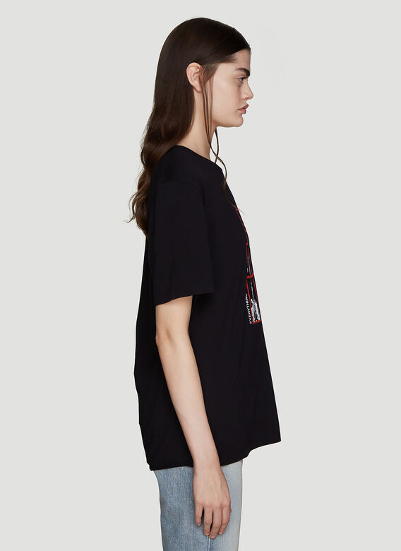 Saint Laurent Volume Logo T-Shirt