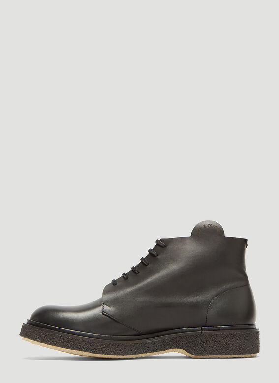 Adieu X Art and Science Lace-Up Boots