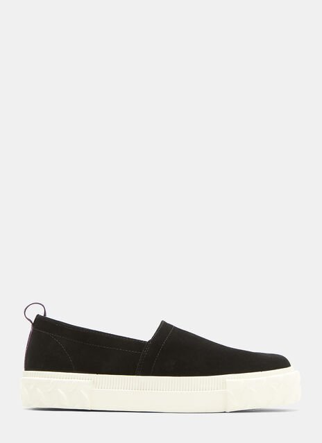 Eytys Viper Slip-On Suede Sneakers