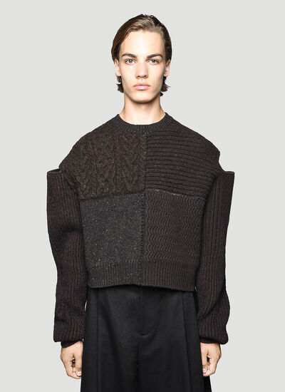 Bottega Veneta Patchwork Sweater