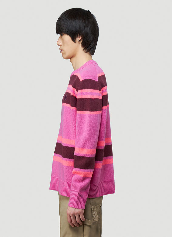 Acne Studios Striped Knit Sweater 3
