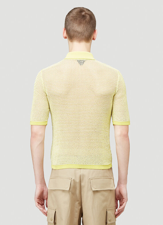 Bottega Veneta SHIRT OPEN FISHNET 4
