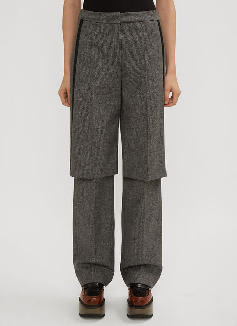 Stella McCartney Laurel Panel Trousers