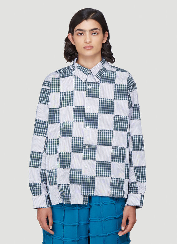Martine Rose Late Night – Conscious Campaign 01 Patchwork Shirt 1