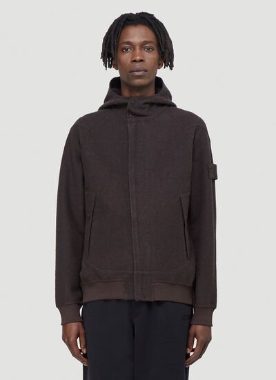 Stone Island Ghost Hooded Sweatshirt