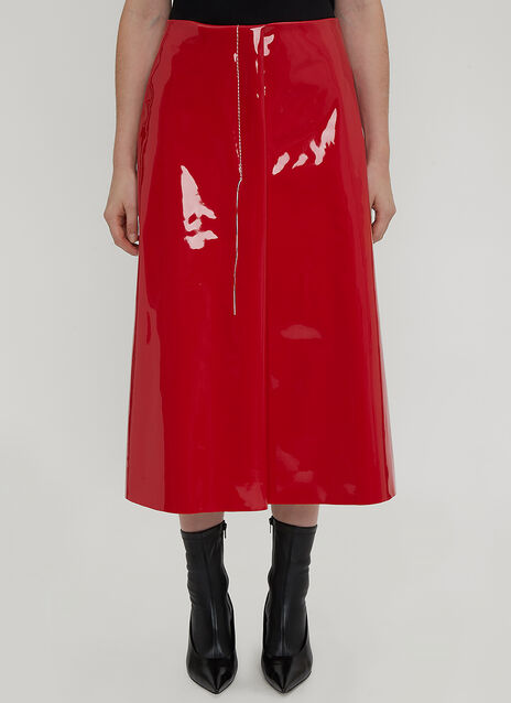 Marni Stitch Vinyl Skirt