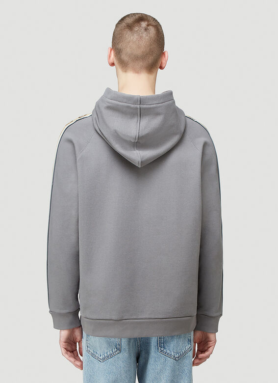 Gucci HOODED SWEATSHIRT HEAVY FELTED COTTON JERSEY 4