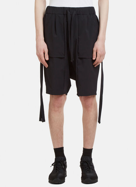 F/CE Pleated Dropped Crotch Pants