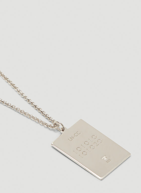 Tom Wood Fortune pendant 10.10 DOG TAGS 20.5 inches 4