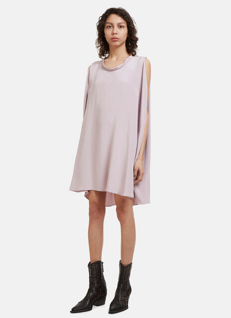 Valentino Sleeveless Silk Dress