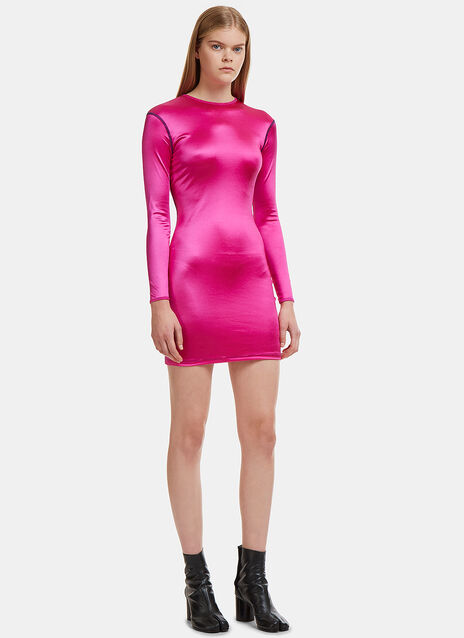 Neon Sleek Dress