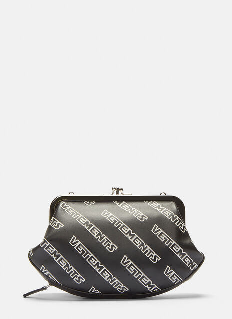 Vetements Logo Printed Granny Bag