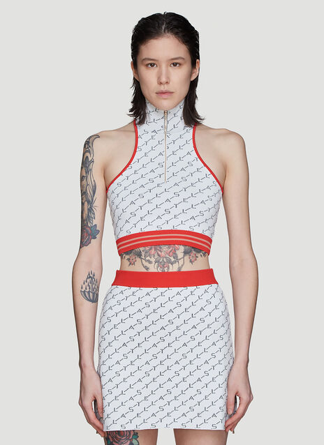 Stella McCartney Logo Knit Vest